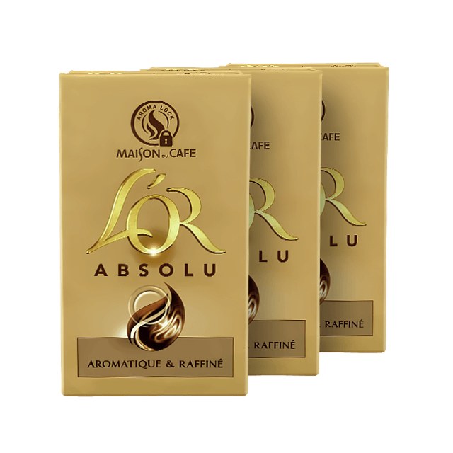 Café Moulu Premium L'OR Absolu