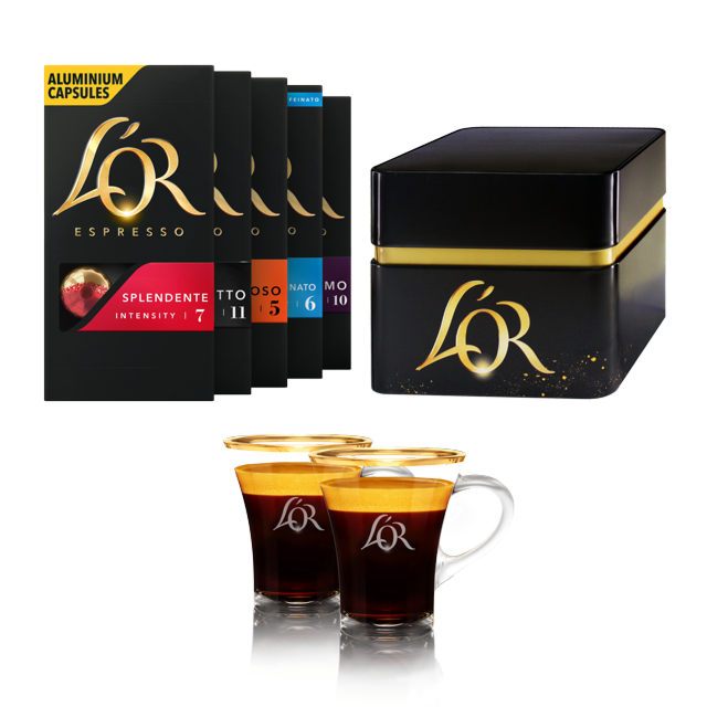 Kit de cafè L'OR