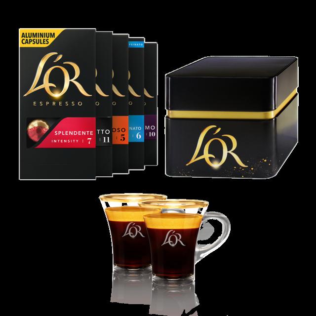 Das L'OR Kaffee-Kit
