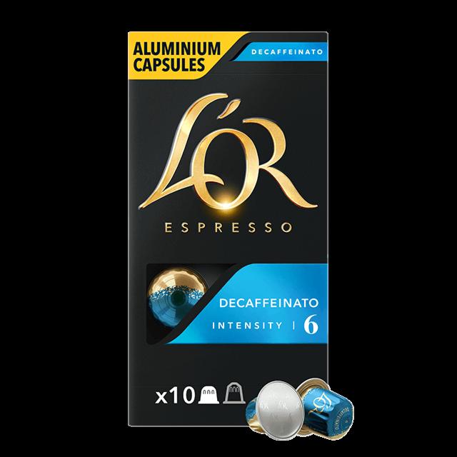 Cápsulas Espresso Decaffeinato