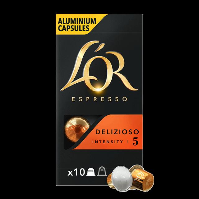 Cápsulas Espresso Delizioso