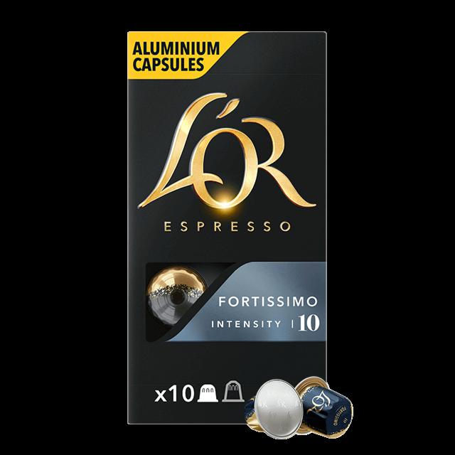 Kapseln Espresso Fortissimo