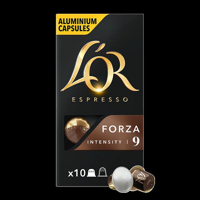 Cápsulas Espresso Forza