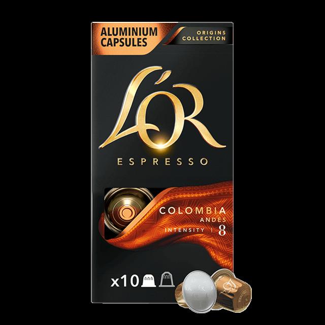 Cápsulas Espresso Colombia