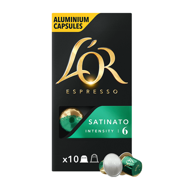 Cápsulas Espresso Satinato