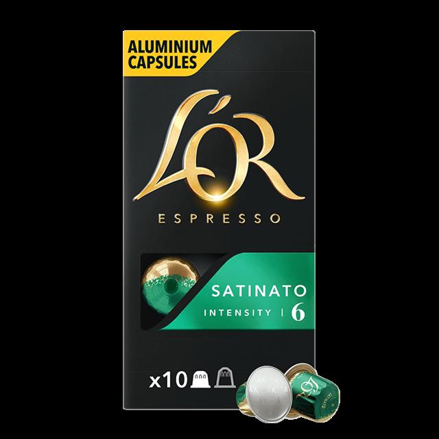 Capsules Espresso Satinato