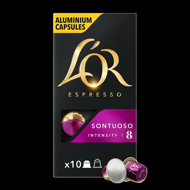 Cápsulas Espresso Sontuoso