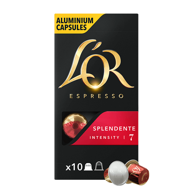 Cápsulas Espresso Splendente
