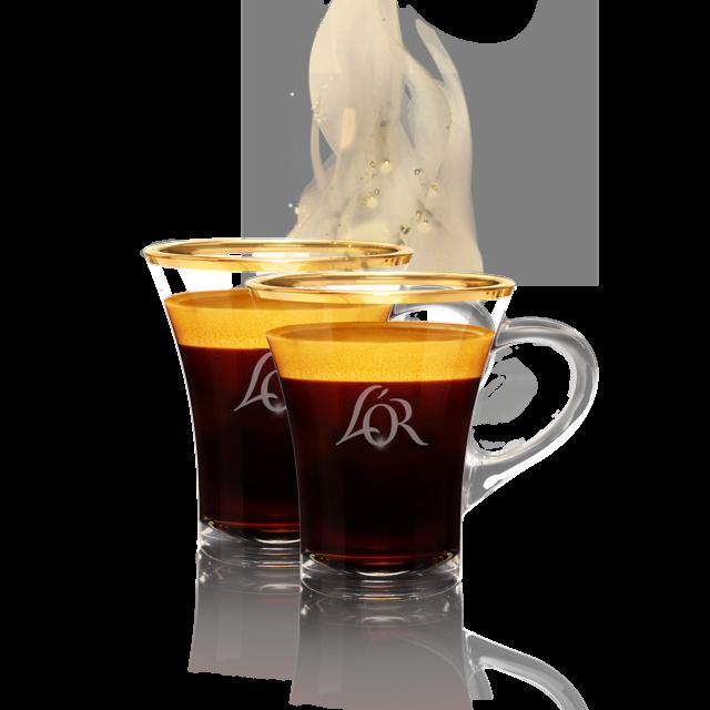 2 Lungo Tassen