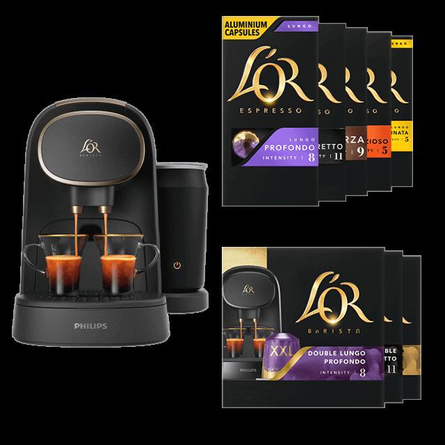 Latte Premium + 100 capsules