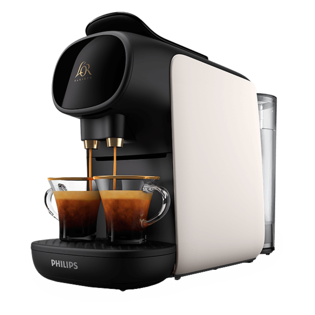 Cafetera L'OR BARISTA Sublime Satin Blanc