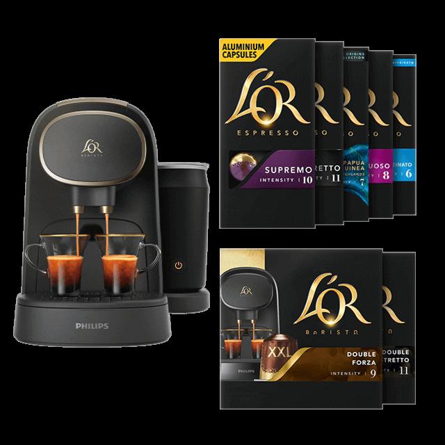 Latte Premium + 200 capsules