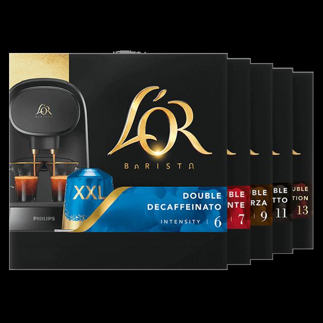 Double Shot Capsule Selection Espressos