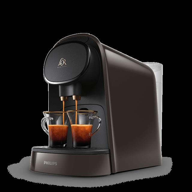 Machines à café L'OR BARISTA Moonstone Gris