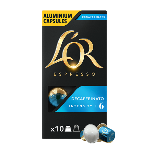 Capsules Espresso Decaffeinato