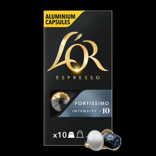 Cápsulas Espresso Fortissimo