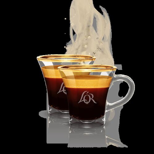 2 espresso cups