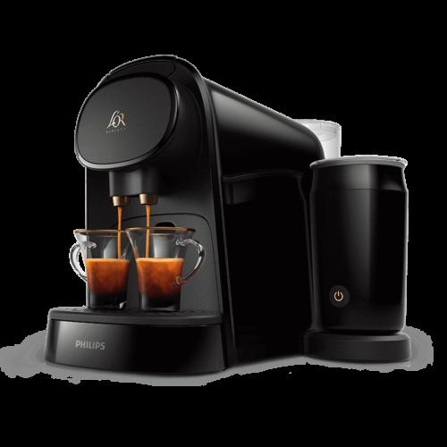 Machines à café L'OR BARISTA® Original - Latte Piano Noir