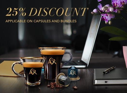 Buy Coffee Pods and Capsules Online | L'OR Espresso