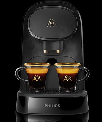 Double cofee machine